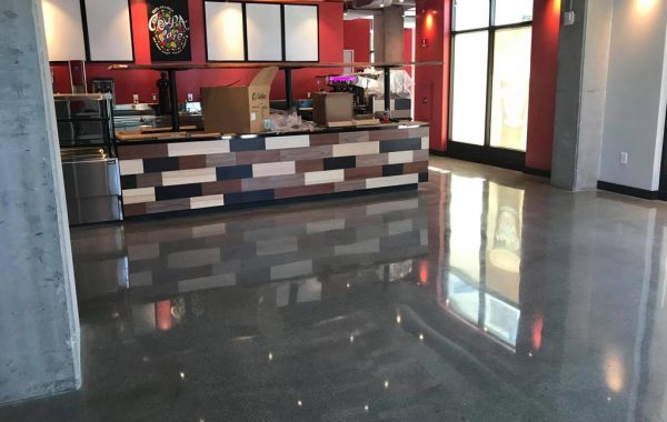 Cafe Concrete Polishing and Sealing