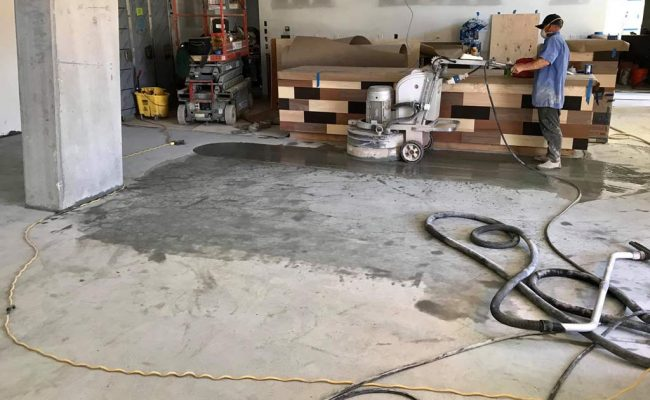 Redwood City Concrete Polishing